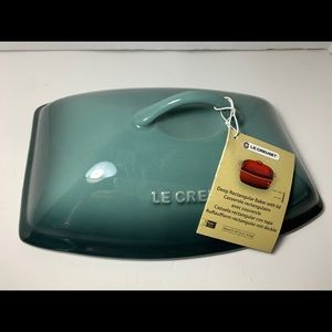 Le Creuset Kitchen - Le Creuset 4.5qt Blue Rectangle Replacement Lid
